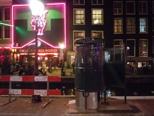 Public Urinal in Red Light District