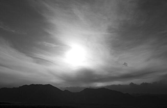 Sun over the Flat Irons
