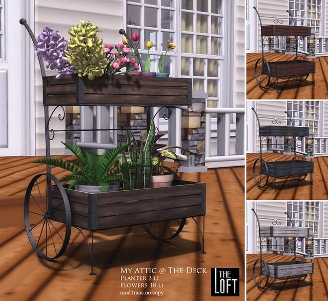 The Loft - My Attic @ The Deck