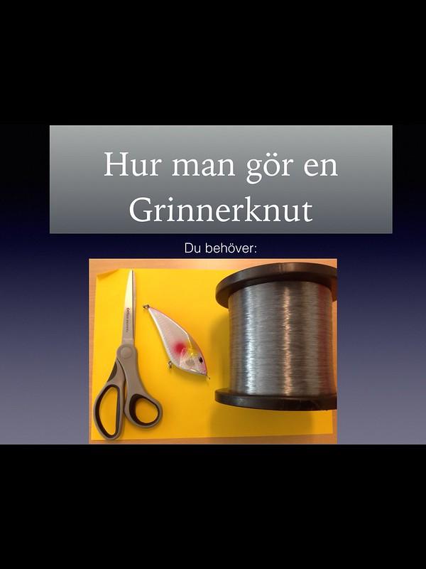 Grinnerknut instruktion