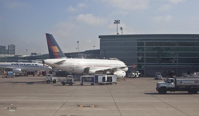 TACA Airbus A319