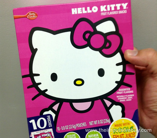 Betty Crocker Hello Kitty Fruit Snacks