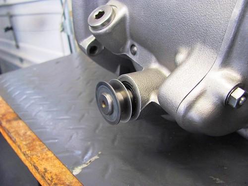 0.5 mm Shim Stack on Shift Shaft