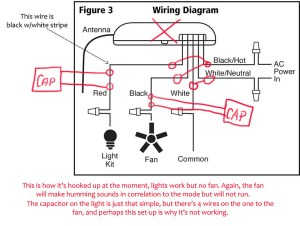 Puzzling challenge for those in the know, mystery voltage when AC LED is present