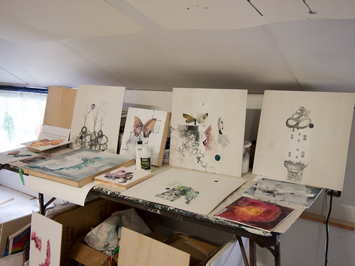 Studio visit with Siobhan Humston-7