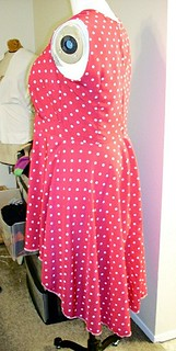 Shaner Dress Side View