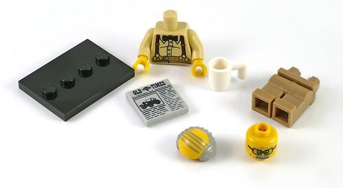 71001 LEGO Minifigures Series 10 08 Grandpa 08