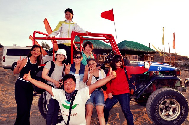 Korean travel  bloggers in La Paz