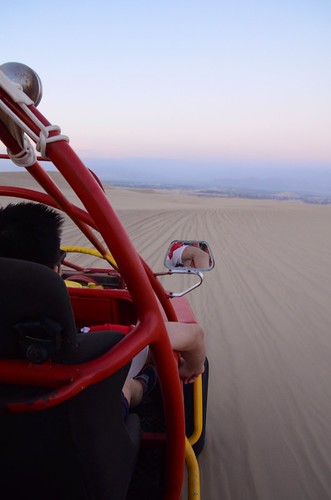 In the dunebuggy 1