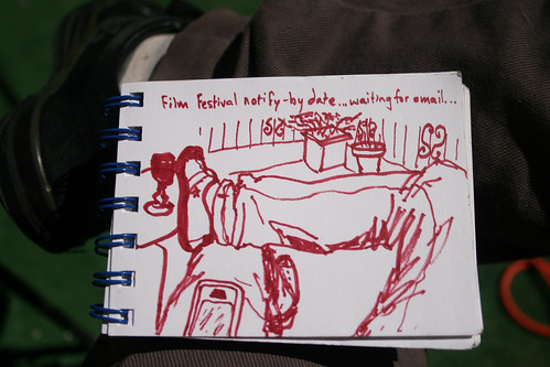 sketchbook: film festival notify-by date... by Nor Art Germs