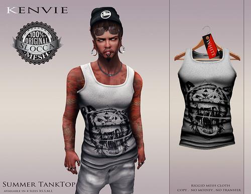 KENVIE . Summer Tanktop Neww by xmike deed