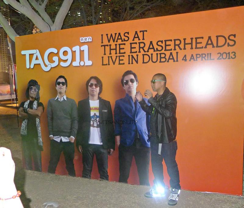Eraserheads in Dubai