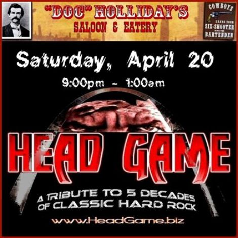 Head Game 4-20-13