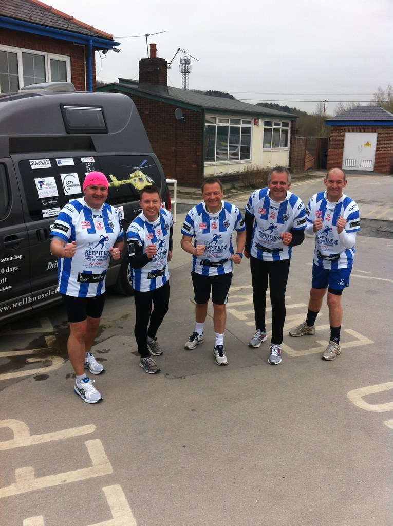 Tour of Yorkshire - On Foot!