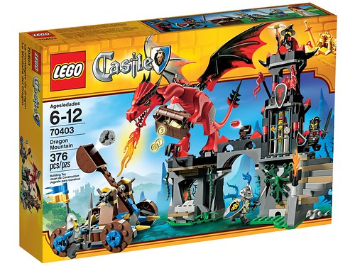 LEGO Castle 2013 70403 Dragon Mountain Box