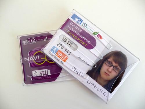 Paris Navigo Card