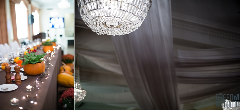 Old Hollywood Glam Meets Diy Rustic Autumn Wedding At The