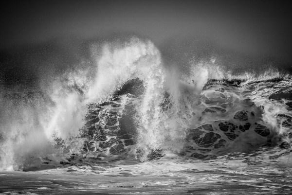Pacific Ocean Crashing Waves - Big Sur Coast by Clint Losee