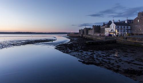 Blue Hour - The Seiont - Caernarfon