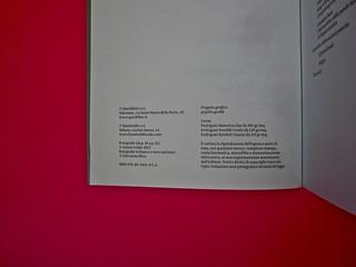 Vincenzo Latromico, Armin Linke, Narciso nelle colonie. Quodlibet Humboldt 2013. Progetto grafico di Pupilla Graphic. Colophon (part.)