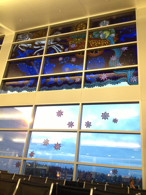 Terminal window art