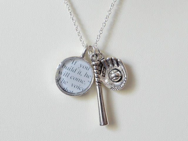 Field of Dreams / Shoeless Joe Baseball Charm Necklace