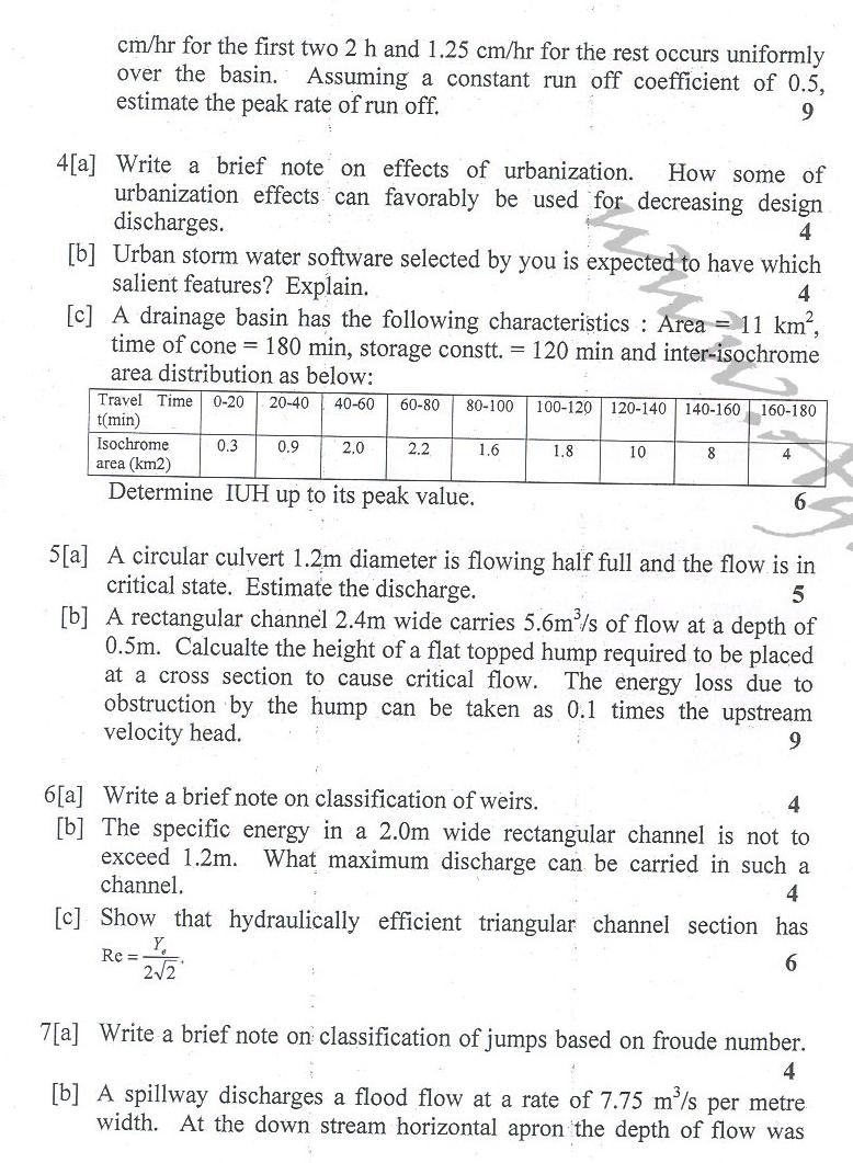 DTU Question Papers 2010 – 6 Semester - End Sem - ENE-312