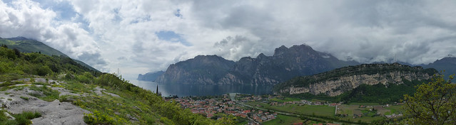 view of torbole from nago