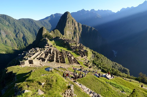 Sunrise on Machu Picchu