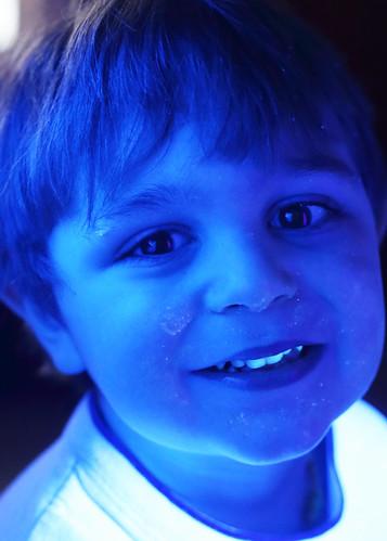 Glowing Boy