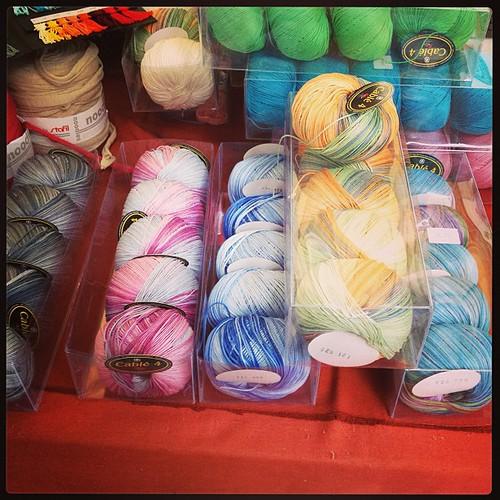 Perle del mercato #cotton #yarn