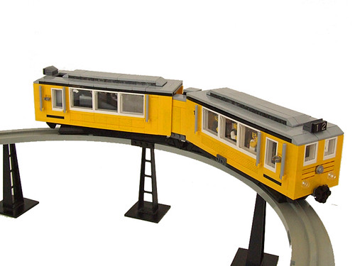 Monorail Train (7w) with PowerFunctions by ER0L