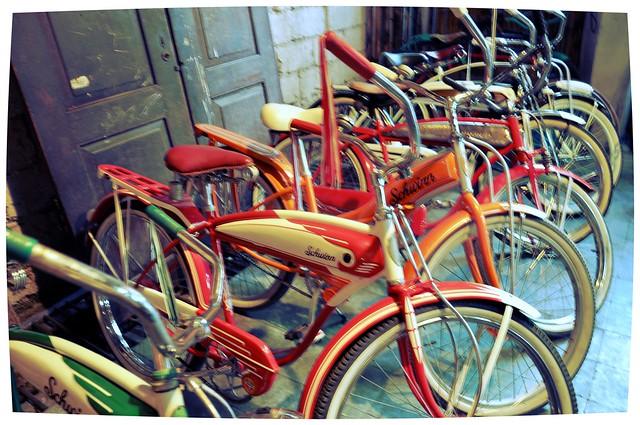 Vintage Schwinn Bikes