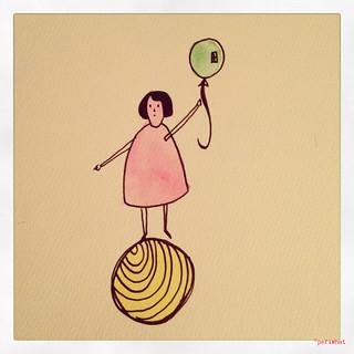 Girl&Ballon