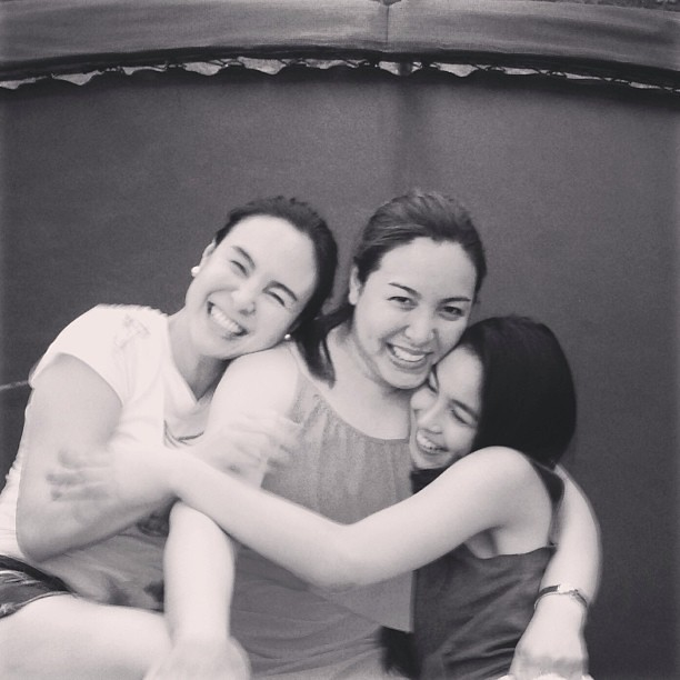 Gretchen, Marjorie, Julia