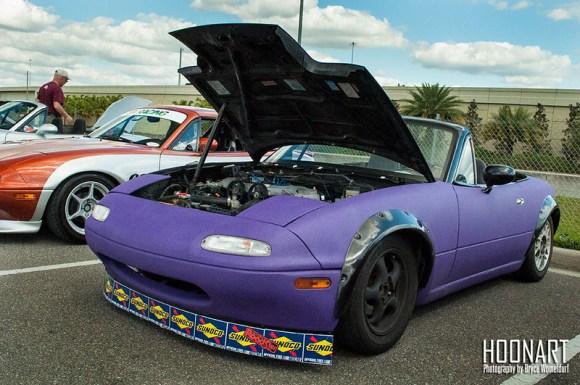 Purple Miata