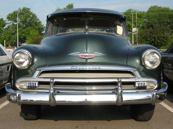 1951 Chevrolet station wagon a