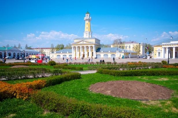 Кострома, Россия. Золотое кольцо
