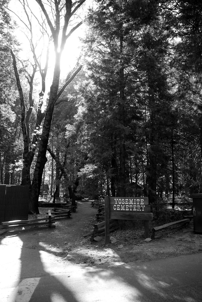 Entrance of the Yosemite Cemetery