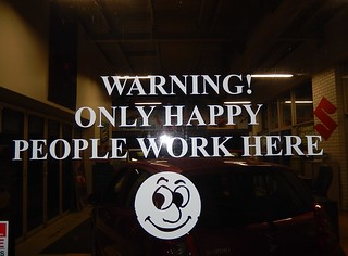 Beware Happy People by Michael Coghlan