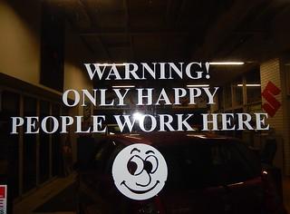 Beware Happy People by Michael Coghlan