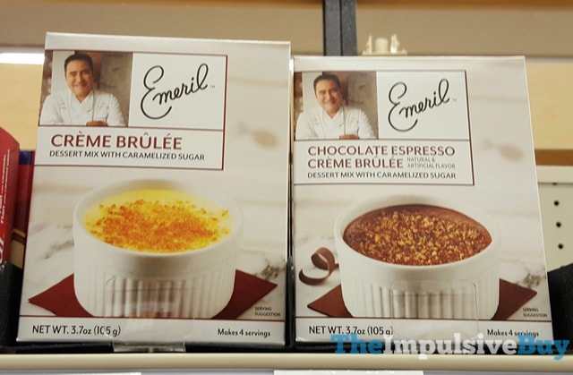 Emeril Creme Brulee and Chocolate Espresso Creme Brulee
