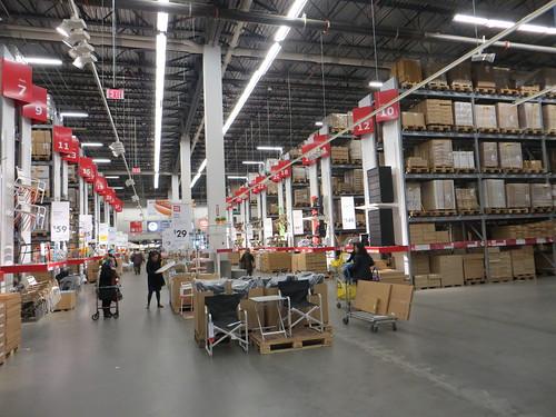 Brooklyn Ikea Warehouse