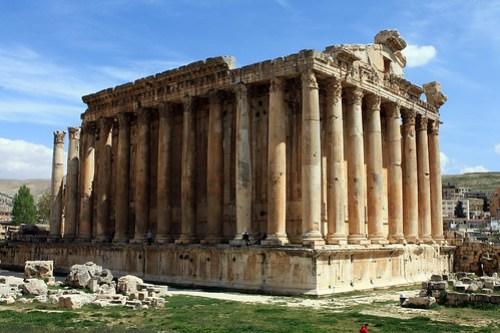 Lebanon ruins
