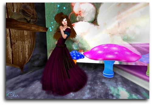 Nyria Dress + Snail Mount + Petite Shroom2