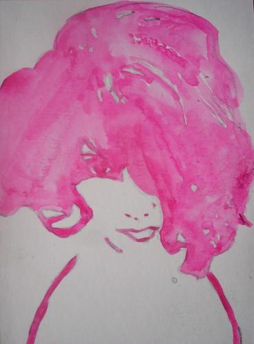 Watercolour portrait #3