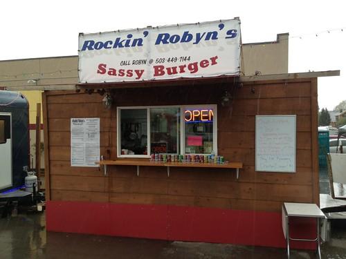 Rockin' Robyn's Sassy Burger