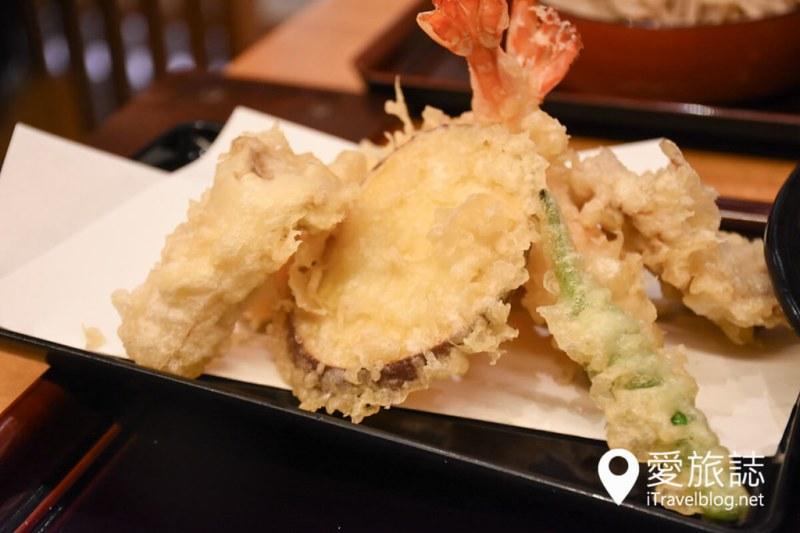 《东京美食推介》浅草荞麦面まぐろそば,点上一碗人气招牌金枪鱼荞麦面吧