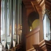 Detail of Baroque Organ in Chapel