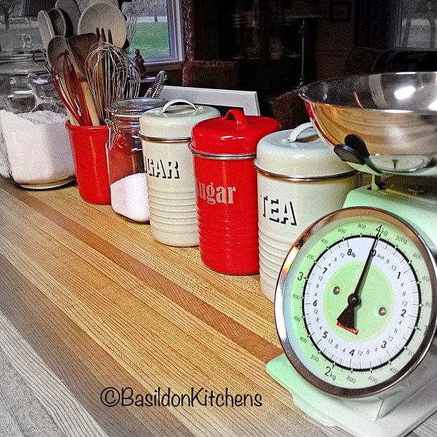Apr 30 - in the kitchen {this is my 'baking counter' in my open plan kitchen} #photoaday #kitchen @missyfowler47